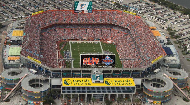 Sun Life Stadium courtesy Sun Life Financial