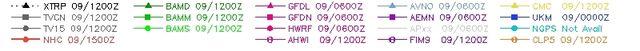 Tropical Storm Chantal spaghetti runs 070913 scenario header