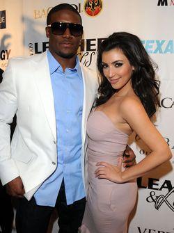 Kim-Kardashian-Reggie-Bush_Leather-and-Laces-Celebration