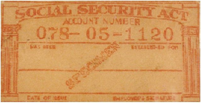 Woolworth most misused Social Security Number