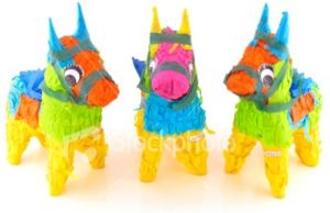 Stock-photo-1695667-three-pinata-donkeys