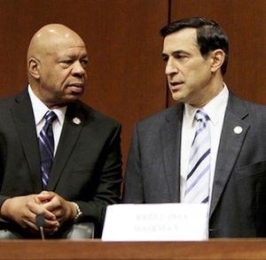 Elijah Cummings Darrell Issa_Oversight-Government Reform Committee photo