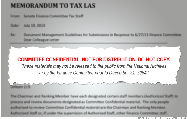 SFC tax reform secret suggestions