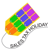 Sales tax holiday tag; 12 states start August with tax holidays
