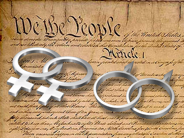 Same-sex marriage US Constitution