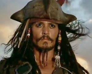 Johnny Depp as Capt Jack Sparrow