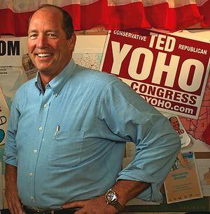Rep Ted Yoho Republican Florida Tea Party campaign photo