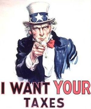 Uncle Sam wants your taxes
