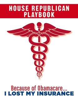 House Republican playbook to fight ACA Obamacare