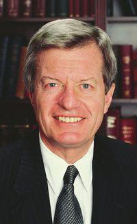 Max Baucus D-Montana Senate Finance chair