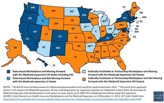 State-Obamacare-marketplace-and-medicaid-expansion_Kaiser-Family-Foundation