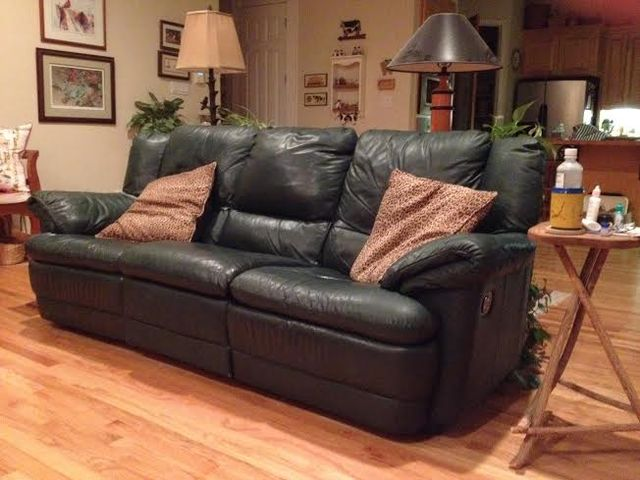 Donated couch