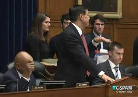 Issa motions to cut off Cummings mic IRS hearing 6March2014