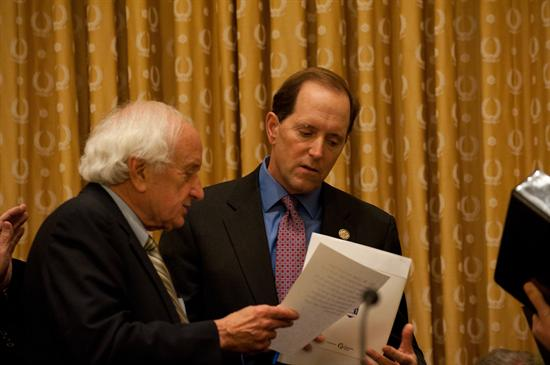 House Ways and Means Carl Levin and Dave Camp discuss legislation