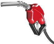 Gas pump handle
