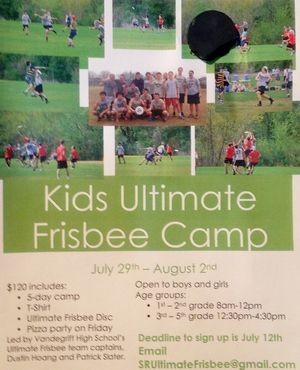 Frisbee Day Camp