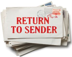 Return-to-sender-stamped-envelopes