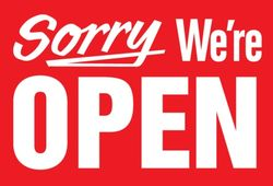 Sorry-open