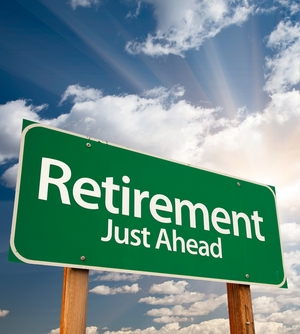 Retirement-sign