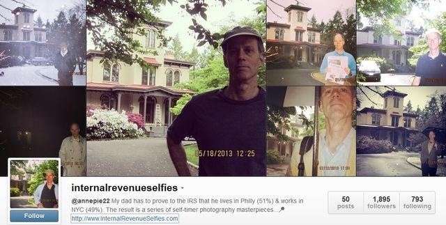 Selfies as tax documentation