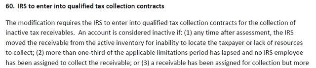 EXPIRE debt collectors provision1