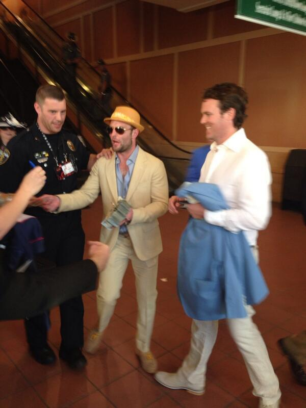 Denver Broncos Wes Welker sharing his winning Kentucky Derby bet