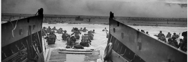 D-Day landing courtesy National Archives