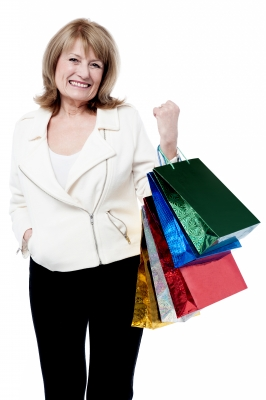 Woman with shopping bags stockphotos via FreeDigitalPhotos-dot-net_ID-100267336