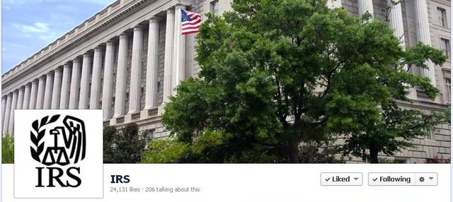 IRS Facebook page