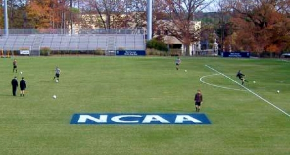 Koskinen Stadium at Duke University soccer practice via StadiumsUSA