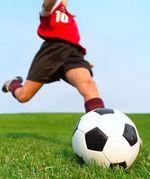 Soccer futbol player ball
