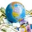 Globe-and-international-money