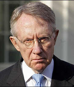 Unhappy Harry Reid via Watchdog dot org