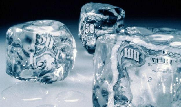 Freeze-frozen-money