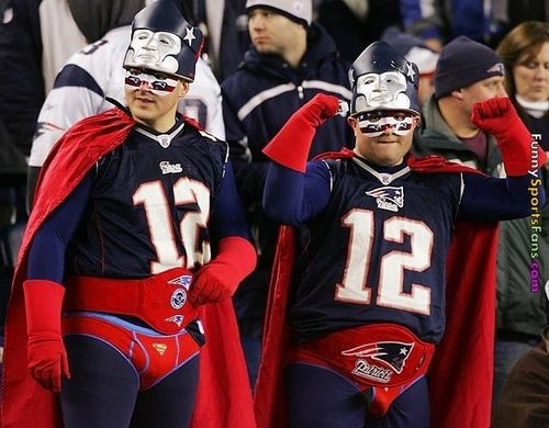 Superman Patriots fans via funny-sports-fans-158