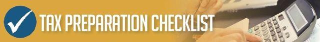Tax Preparation Checklist2