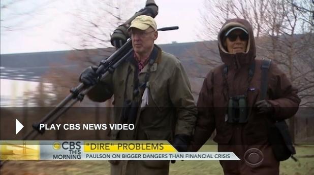 Hank and Wendy Paulson bird watching April 2015