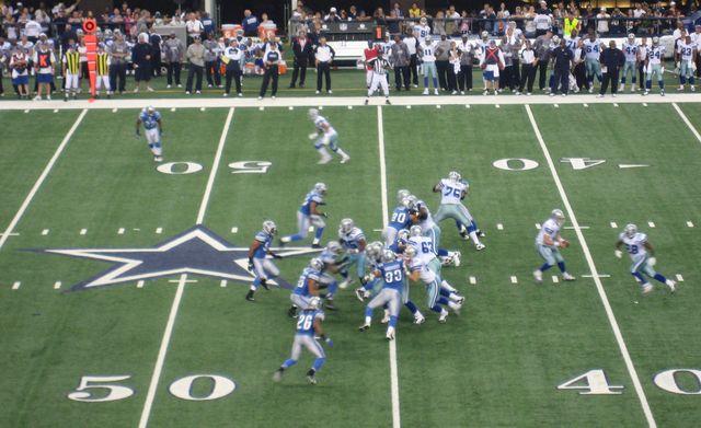 NFL's Cowboys vs Lion photo by SKB