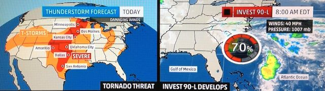 Dual weather threat screen shot 2