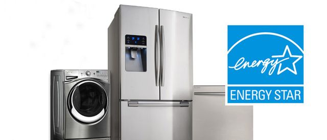 Energy Star appliances and logo