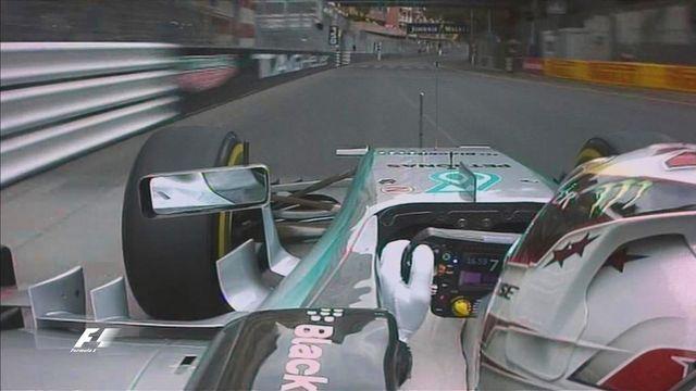 Lewis Hamilton F1 Grand Prix of Monaco 2015 pole winning run via Formula1