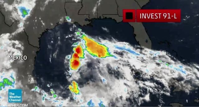 Gulf of Mexico Invest 91-L possibly Bill 061515
