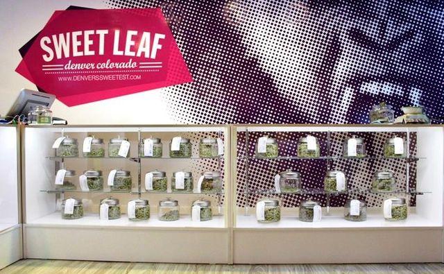 Sweet Leaf marijuana shop Denver Colorado