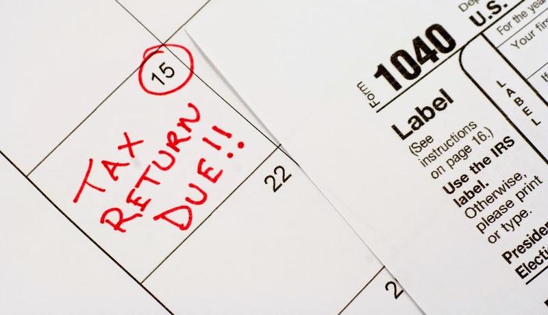 Tax Due deadline 15th
