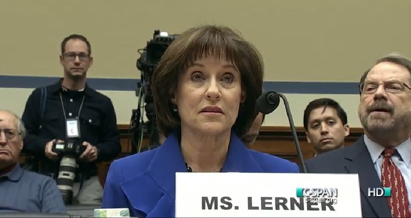 Lois Lerner former IRS exempt orgs chief House hearing 030514