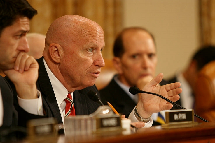 New House W&M Chair Rep. Kevin Brady at hearing in 2014
