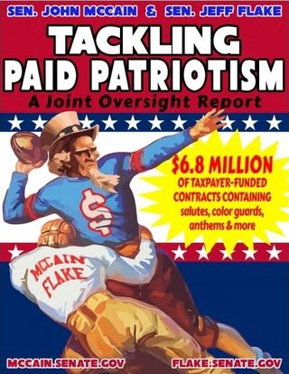 Paid Patriotism report cover November 2015