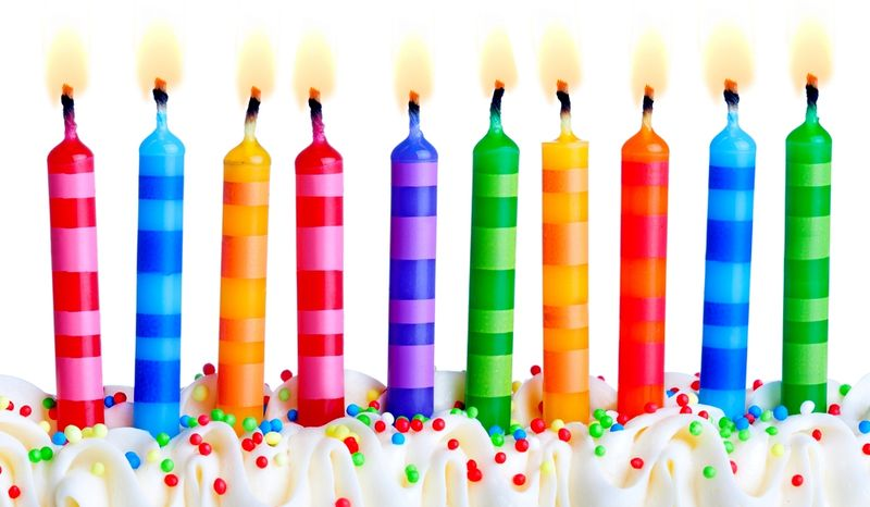 10 birthday candles_shutterstock