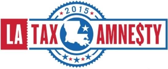 Louisiana 2015 tax amnesty banner