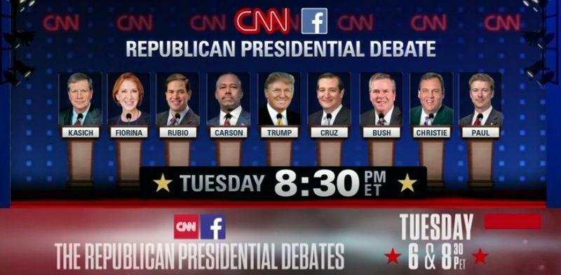 GOP presidential debate 121515 CNN Las Vegas